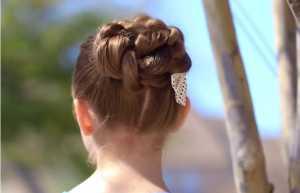Cách búi tóc xoắn dây đẹp