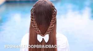 Cách tết tóc thiên thần cho nàng thêm duyên dáng