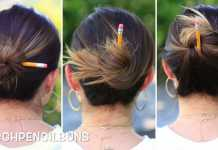 Ba cách búi tóc nhanh bằng bút chì mà vẫn đẹp