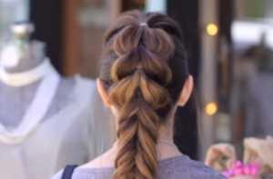 Tết tóc đuôi cá thật đẹp cho nàng