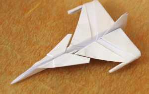 Cách gấp máy bay giấy Jas 39