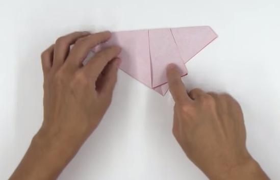 Cách làm hoa hồng Origami bằng giấy