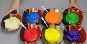 Cách làm bánh gato - bánh kem sinh nhật bảy màu