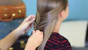 Cách tết tóc xương cá cho bạn gái thêm xinh