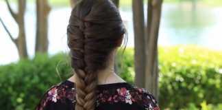 Hướng dẫn tết tóc kiểu Pháp