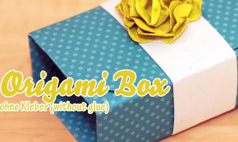Cách gấp hộp quà Origami dễ thương