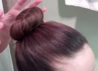 Cách búi tóc củ tỏi đẹp chỉ trong một phút