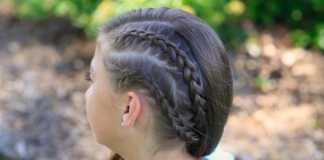 Cá tính với tóc tết kiểu Hà Lan