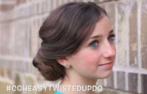 Trẻ trung và quý phái với tóc búi updo
