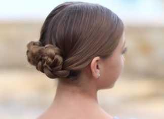 Làm đẹp cho nàng với cách búi tóc hai bên