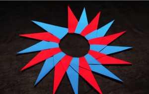 Cách gấp phi tiêu ninja 16 cánh bằng giấy