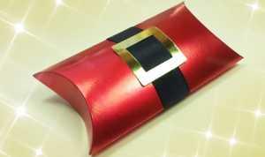 Cách làm hộp quà giáng sinh đơn giản