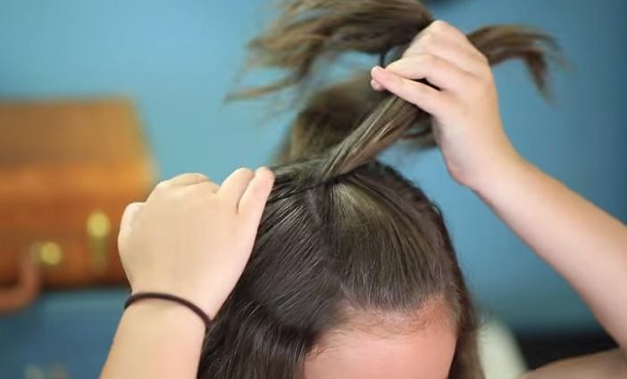 Cách búi tóc đơn giản cho nàng thêm duyên dáng