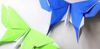 Cách gấp bướm giấy Origami đơn giản