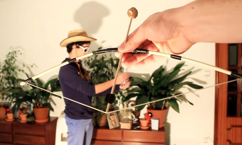 Cách làm đồ chơi cung tên mini