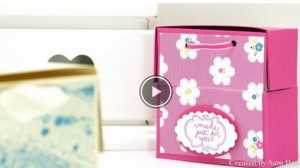 """Cách làm hộp quà giấy hình vuông cực """"kute"""""""
