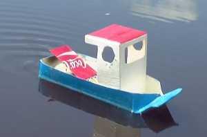 Cách làm thuyền hơi nước đồ chơi