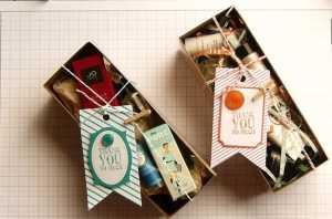 Cách làm hộp quà xinh nhật bằng giấy đơn giản