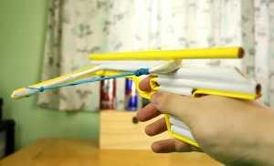 Cách làm nỏ đồ chơi bằng giấy