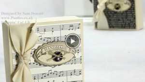 Học cách làm hộp quà độc đáo bằng giấy