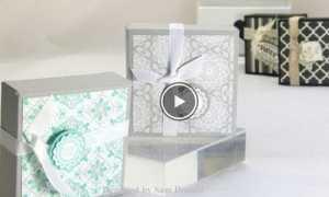 Cùng làm hộp giấy cho quà sinh nhật thêm ý nghĩa