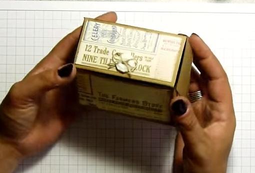 Cách gấp hộp quà giấy hình ngôi nhà xinh xắn