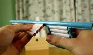 Cách làm súng bắn hơi bằng giấy
