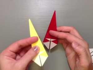 Gấp chiếc ô bằng giấy theo phong cách nghệ thuật Origami