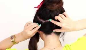 Búi tóc rối updo cho nàng cá tính