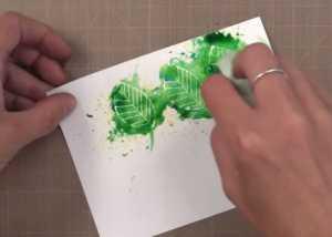 Cách vẽ thiệp sinh nhật độc đáo chỉ với hộp màu nước