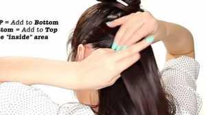 Kiểu tóc Cute cho mái tóc dài