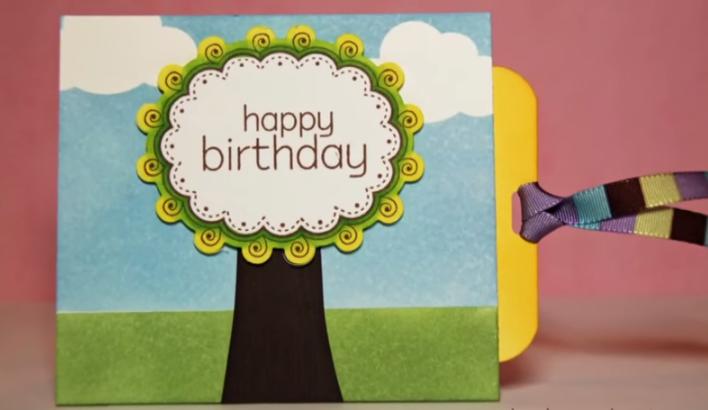 Cách làm thiệp sinh nhật độc đáo