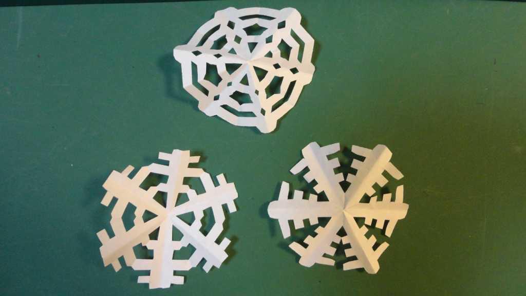 Cách gấp bông tuyết origami bằng giấy