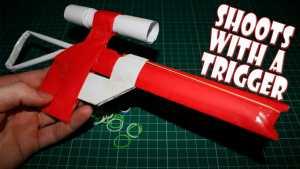 Cách làm súng giấy bắn phát một chính xác