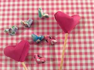 Cách gấp trái tim Origami may mắn