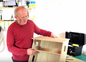 Cách làm nhà gỗ cho búp bê