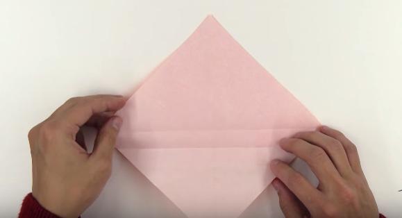 Cách gấp thanh đao Origami bằng giấy