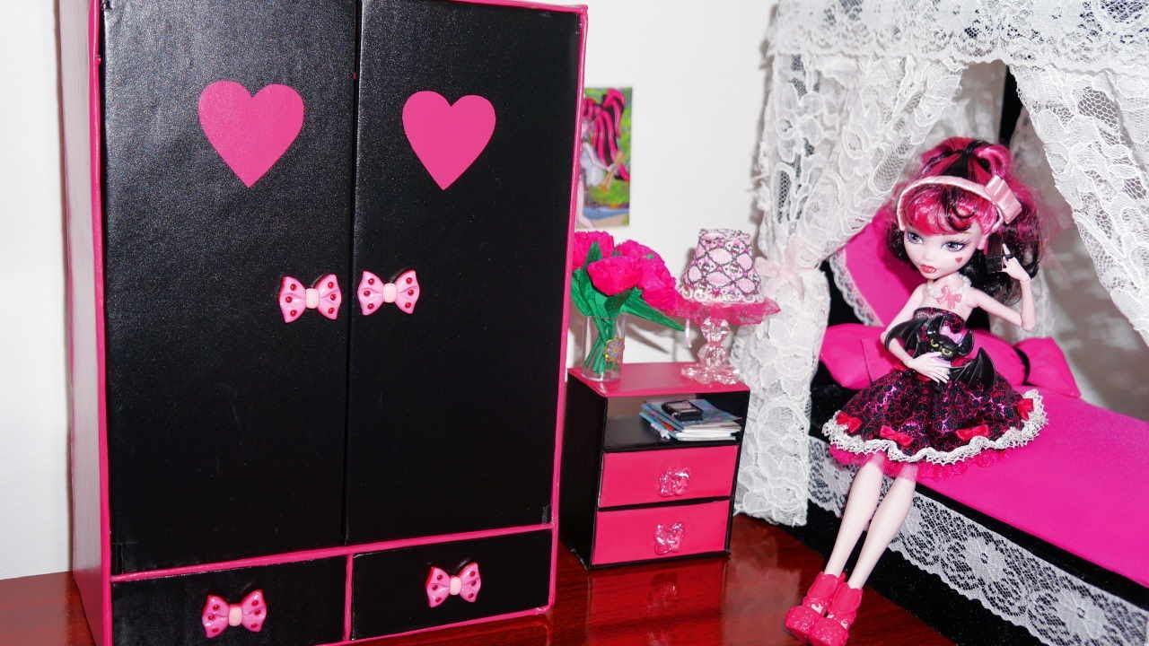 Как сделать шкаф кукле монстер хай своими руками - Oralimplantology.ru