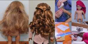 Cách làm mái tóc ngộ nghĩnh cho cô nàng búp bê của bạn