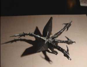 Cách gấp rồng Origami ba đầu