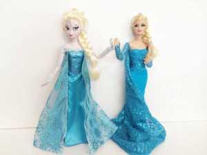 Cách may váy Elsa cho cô nàng búp bê của bạn