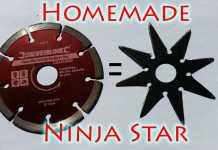 Cách làm phi tiêu ninja 8 cánh
