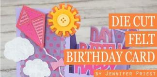 Cách làm thiệp sinh nhật 3D nổi bật