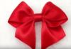 Cách làm nơ gói quà bằng vải