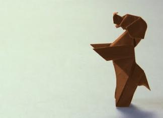 Cách xếp chú chó xinh xắn bằng giấy theo phong cách origami