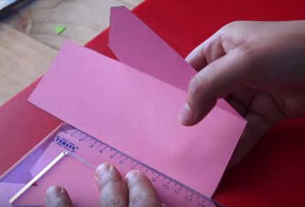 Cách làm hộp quà hình bánh kem