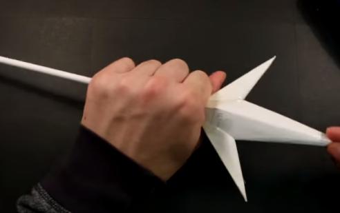 Cách làm dao kunai ninja của Minato trong Naruto