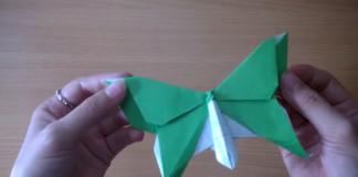 Cách xếp con bướm giấy theo phong cách origami