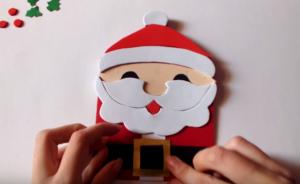Cách làm thiệp Giáng Sinh