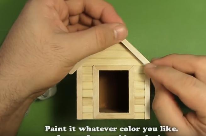 Cách làm nhà đồ chơi cho búp bê – nhà cho cún
